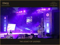 some exclusive pictures of this awesome Legacy of Legends event.