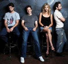 They're weird. But somehow they're sexy too. It's Always Sunny in Philadelphia.