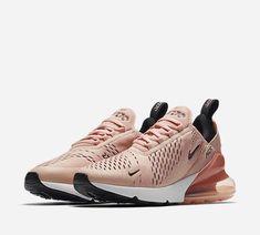 Nike Air Max 270 Pink Moda Sneakers, Sneakers Mode, Air Max Sneakers, Sneakers Fashion, Nike Shoes Blue, Nike Shoes Outfits, Nike Free Shoes, Shoes Jordans, Blue Nike