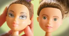Woman Transforms Dolls With Nail Polish Remover And Paint