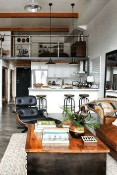 Home Decor Wish List, Loft Style Decor