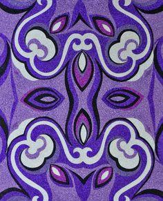 Reuben Paterson, Even After All analogous: violet to indigo Painters, Indigo, Fashion Show, June, Colour, Gallery, Artist, Summer, Crafts