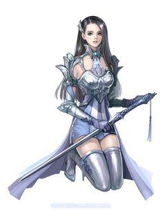 Female Knight by eliz7.deviantart.com on @deviantART