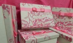 Caixa de presente forrada: Como fazer e belos modelos