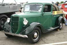 ford pickup trucks | 1936 Ford Pickup Truck