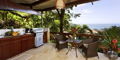 Villa Mot Mot is a wonderful, tropical-rustic style bungalow secluded in the jungle with inspiring, ocean views. Villas, Bungalow, Luxury Escapes, Tropical, Best Family Vacations, Central America, Rustic Style, Best Hotels, Costa Rica