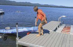 Online Store — The Dock Doctors Floating Dock, Floating House, Canoe Accessories, White Water Kayak, Kayak Storage Rack, Lakefront Property, Boat Lift, Lake George, Boat Dock