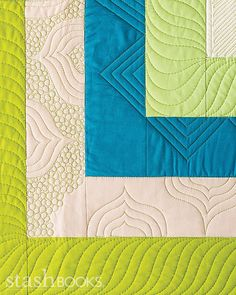 Shape by Shape Free-Motion Quilting with Angela Walters by C&T Publishing, via Flickr quilting