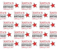 40th Birthday backdrop, 6 Ft X 5 Ft , Hollywood, Vinyl Backdrop for Hollywood theme,Photo Booth prop on Etsy, $79.00