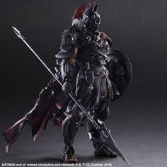 Batman: Sparta Batman Variant Play Arts Kai Action Figure (Batman Timeless) - AnimePoko.com