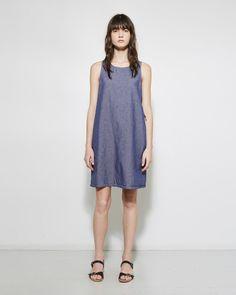 FWK Engineered Garments | Wrap Sundress | La Garçonne