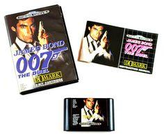 Sega Mega Drive Spiel James Bond 007 The Duel in OVP