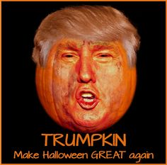 Trumpkin ~ Make Halloween Great again! Alcohol Quotes, Facebook Sign Up, Halloween Decorations, Humor, People, Movie Posters, Holiday, Ideas, Vacations