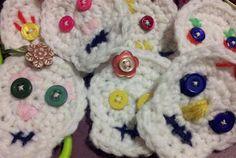 tengo crafty: Tutorial: Crochet Sugar Skulls