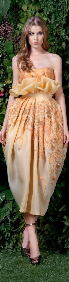 Basil Soda couture 2015/16 Couture 2015, Couture Fashion, Fashion Beauty, Catwalk Fashion, Strapless Dress Formal, Prom Dresses, Dresses 2016, Dress Prom, Wedding Dresses