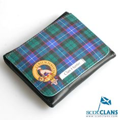 Clan Crest and Tartan Face Wallet