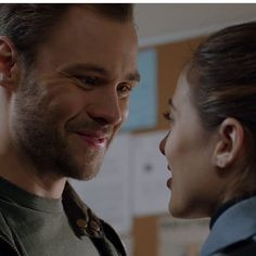 #Burzek the way he looks at her is just so cute