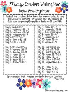Sweet Blessings: May Scripture Writing Plan 2016 Bible verses Bible Prayers, Bible Scriptures, Bible Quotes, Bible 2, Kids Bible, Quotes Quotes, The Plan, How To Plan, Scripture Reading