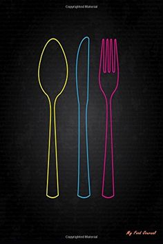 My Food Journal: Black Knife And Spoon, Food Journal & Diary, 6 x 9, 12 Weeks of Daily Entries: My Food Journal, Blank Book Billionaire: 9781514859124: Amazon.com: Books