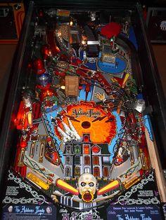 addams family pinball machine | Bally Addams Family Collector Classic Arcade Pinball Machine - played in Troy, MI