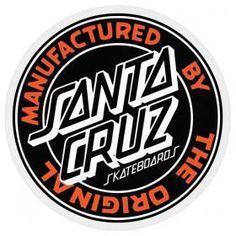 Santa Cruz Stickers, Santa Cruz Logo, Skateboard Accessories, Hand Sticker, Mission Viejo, Hand Logo, Skateboard Decks, Skateboards, Logos
