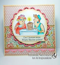 Out to Lunch card by Tammie Koehnen