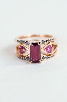 Bliss Lau Garnet Mirage Ring