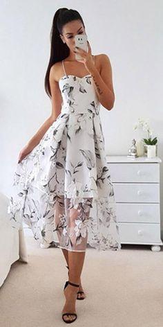 Vestido Midi Evase Tule Com Tiras Trançado Nas Costas | UFashionShop 2 Colours