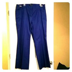 NWOT Cobalt blue dress pants Never worn, blue dress pants New York & Company Pants Trousers