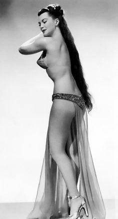 Burlesque dancer, Sherry Britton c. 1940's