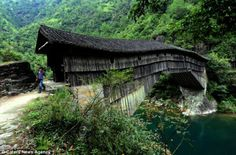 Made in China Bridge that is 1000 year old. the arched wooden bridge built in Kengdi village of Shouning County, China nearly 1,000 years ago demonstrate the true skill of the master craftsmen who first constructed them.
