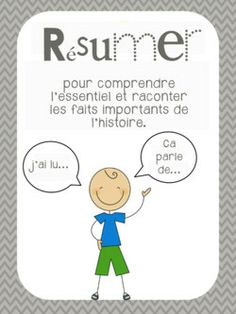 posters littérature Read In French, Grade 1 Reading, French Immersion, Teaching French, Teaching Reading, Comprehension, Resume, Projects To Try, Cycle 2