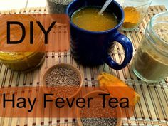 Cough Remedies Quick and Easy Hay Fever Remedy - herbsandoilshub. I love Kami's home remedies because they're quick, simple and effective. They also use spices and ingredients that can be found in most kitchens. Home Remedies For Allergies, Allergy Remedies, Cough Remedies, Herbal Remedies, Natural Headache Remedies, Natural Health Remedies, Natural Cures, Natural Treatment For Allergies, Immune System
