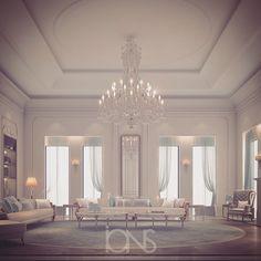 Lounge design - private palace