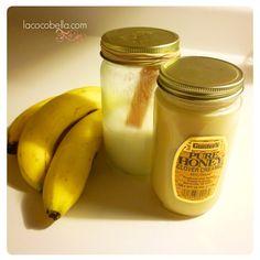 DIY Deep Condition : : Banana, Honey, Coconut Oil Hair Mask . : La Coco Bella : .  #NaturalHair #LaCocoBella #Lauren