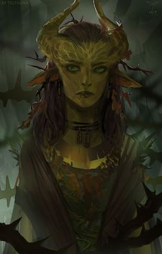 Nettlebug is a young, ignorant dryad traveling to the Zeppeli monastery from the Greensea to warn them of apocalyptic visions.