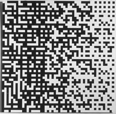 Peter Struycken - Computerstructure 4A - 1969