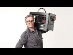 The MakerBot Replicator 2 - Announcement