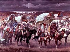 The Trail of Tears, by Robert Lindneux