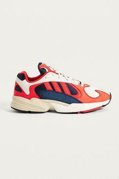"""Slide View: 1: adidas– Sneaker """"Yung-1"""" in Weiß und Orange"""