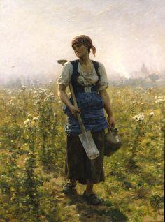 Jules Breton, Le Matin, 1888