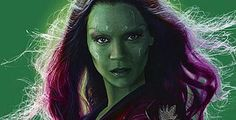Zoe Saldana as Gamora | Zoe Saldana Guardians of the Galaxy Gamora