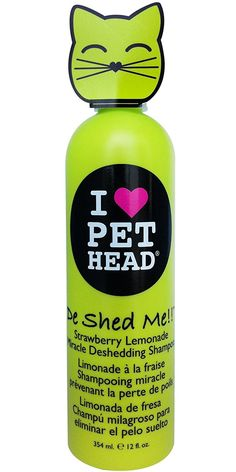 Pet Head De Shed Me!! Deshedding Shampoo for Cats 12oz >>> Want additional info? Click on the image. (This is an Amazon affiliate link)