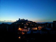 Así amanece en Monforte-Galicia, 5-6-2014