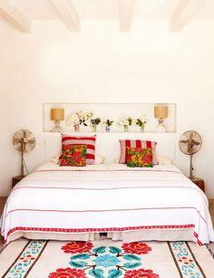 Casinha colorida: Inspiração décor Mexicana…
