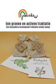 Een groene en actieve traktatie - Janske.nl