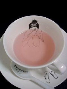Esther Horchner: tea sets designs