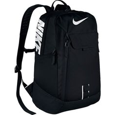 Nike Alpha Adapt Reign Backpack ($56) ❤ liked on Polyvore featuring bags, backpacks, black, backpack bags, nike bag, nike backpack, day pack backpack and rucksack bag