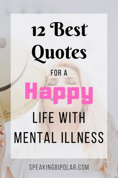 You can be successful living with mental illness. Read 12 inspirational quotes and how to apply them in your life. Anxiety Tips, Social Anxiety, Anxiety Quotes, Happy Quotes, Best Quotes, Life Quotes, Mental Illness Awareness, Mental Health Therapy, Stress Relief Tips