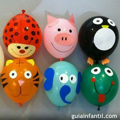 Animales de globos Balloon Crafts, Balloon Decorations, Diy For Kids, Crafts For Kids, Diy And Crafts, Paper Crafts, Ideas Para Fiestas, Animal Party, Baby Birthday